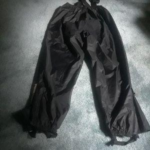 Bibbed Motorcycle Rain Pants